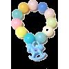 Multicolor Beaded Rocking Horse Bracelet - Bracelets -