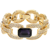 Multicolor Crystal Gold Tone Statement - Zapestnice - $29.99  ~ 25.76€