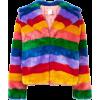 Multicolor faux fur jacket - Jaquetas e casacos -