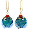 Murano glass fish - Earrings -
