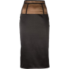 Murmur skirt in black and brown - Suknje -