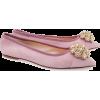 Musette pink velvet balerinas - Ballerina Schuhe -