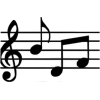 Music Notes - Objectos -