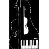 Musical instruments modern illustration - Illustrations -