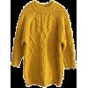 Mustard oversized sweater - Swetry -