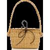 Muun Jeanne Mini Straw Bag - Hand bag -