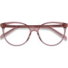 NALA pink frame eyeglasses - Dioptrijske naočale -