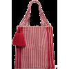 NANNACAY Bianca tasseled striped crochet - Hand bag -