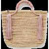 NANNACAY Zana tasseled woven straw tote - Hand bag -
