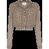 NANUSHKA Tahnee checked cropped shirt - Long sleeves shirts -