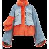 NATASHA ZINKO Oversized faux-fur and den - Jacket - coats -