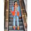 NATASHA ZINKO Oversized faux-fur denim - Jacket - coats -