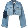 NATASHA ZINKO denim cropped jacket - Jakne in plašči -