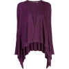 NATORI draped Waterfall cardigan - Cardigan -