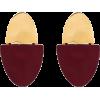 NAUSHEEN SHAH X MONICA SORDO gold-plated - Earrings -