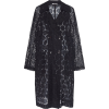 NEVENKA  black lace coat - Giacce e capotti -
