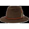 NICK FOUQUET brown La Mort hat - Gorras -