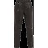 NILI LOTAN Montana pleated leather trous - Capri-Hosen -