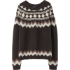 NIL LOTAN brown sweater - Pullover -