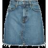 NOBODY DENIM Piper Skirt Familiar - Skirts -