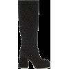 NODALETO Bulla Solal knee-high velvet bo - Boots -