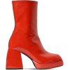 NODALETO red ankle boot - Škornji -