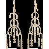 NOIR JEWELRY 14-karat gold-plated crysta - Kolczyki -