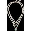 NOIR JEWELRY 14-karat gold-plated stone - Ogrlice -