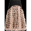 NOIR KEI NINOMIYA Contrast-panel crepe m - Skirts - 770.00€  ~ $896.51