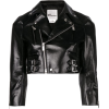 NOIR by KEI NINOMIYA cropped biker - Jacket - coats -