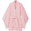 NORMA KAMALI Belted cotton-blend terry k - Giacce e capotti -