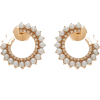 NOUVEL HERITAGE diamond & pearl earrings - 耳环 -