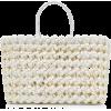 Nancy Gonzalez Medium Woven Python Tote - Hand bag -