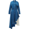 Natasha Zinko Layered checked dress - Dresses -