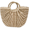 Natural Straw Tote Bag - Torbice -