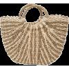 Natural Straw Tote Bag - Hand bag -