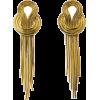 Nausnice Gold Earrings - Earrings -