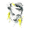 Girl Illustration - Illustrations -
