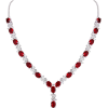 Necklace red - Ogrlice -
