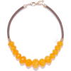 Necklace with faceted stones - Necklaces -