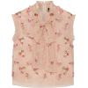Needle & Thread's blush 'Rainbow Ditsy' - Košulje - kratke -
