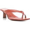 Neous Leather Thong Sandals - Sandals - $440.00