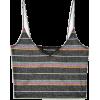 New Girl Order metallic rainbow striped  - Tanks -