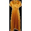 New Look mustard pleated dress - Платья -