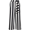 Newlook Black Stripe Tie Waist Trousers - Capri & Cropped - £19.99