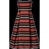 Nicholas Strapless Stripe Dress - Haljine -