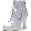 Nike Dunk SB Mid Heels White/S - Classic shoes & Pumps -