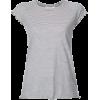 Nili Lotan Striped Baseball T-shirt - T-shirts -