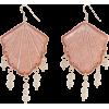 Nimertis dusty pink - Earrings -