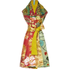 Nina M'O Exclusive printed silk dress - Dresses -